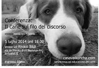 conferenza sul rapporto uomo cane