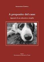 copertina del mio libro sui cani
