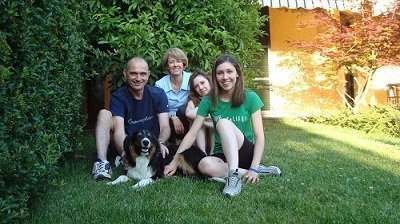cane e padrone famiglia