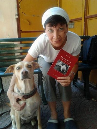cane e padrone meticcia