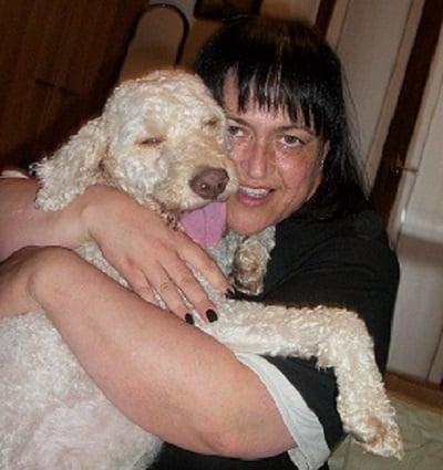 cane e padrone lagotto