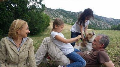 cane e padrone razza parson russel terrier
