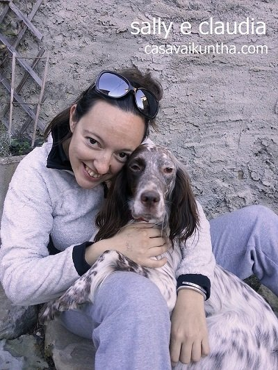cane e padrone setter inglese