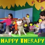 pet therapy al baby parking baby sitting e all'asilo nido zucchero filato