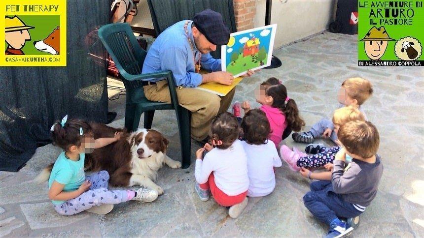 favola per bambini per progetti pet therapy casavaikuntha