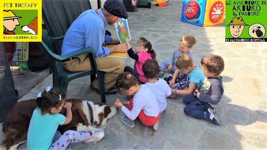 favola per bambini casavaikuntha pet therapy