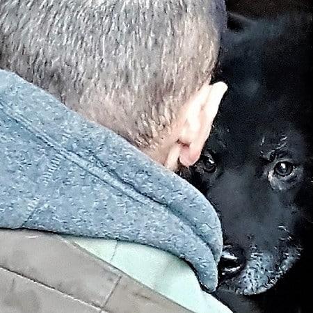 chi ha paura del cane nero