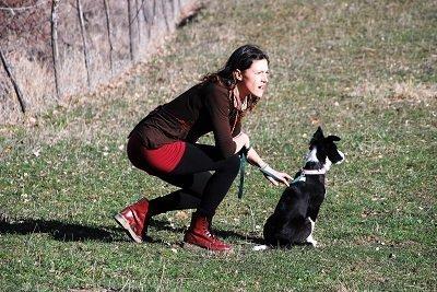 cane e padrone Prana e Alessia