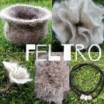 dalla pecora al feltro pecore felici tosatura della lana cernita dei velli lavaggio della lana asciugatura della lana cardatura della lana realizzazione del feltro impariamo a fare il feltro