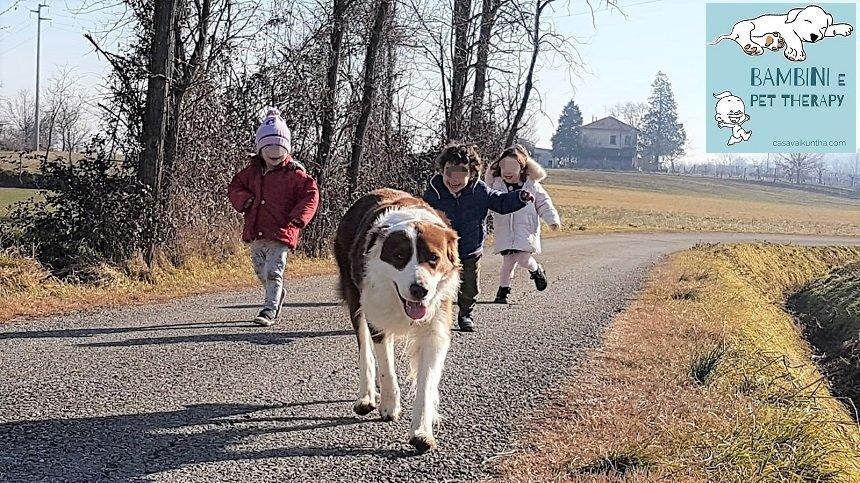 bambini e pet therapy