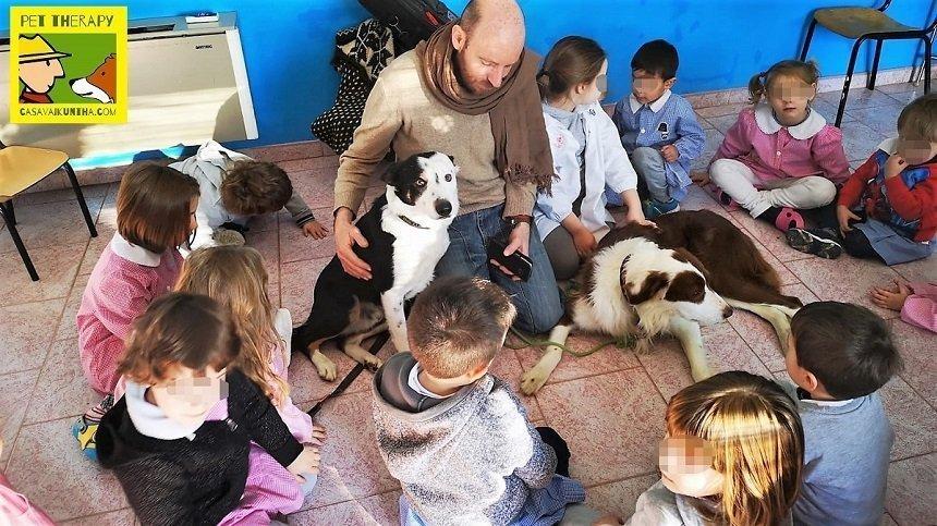 il cane all'asilo
