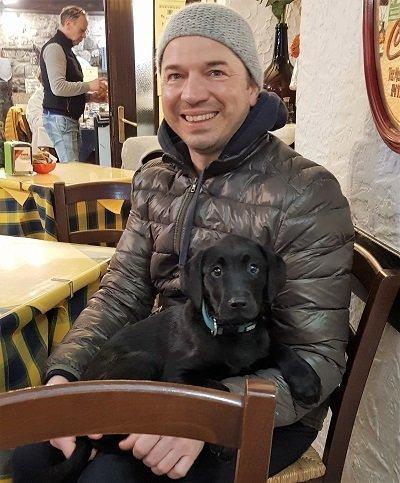 cane e padrone joy e mario