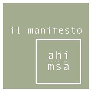 Ahimsa amore di lana: il manifesto