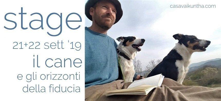stage il cane e gli orizzonti della fiducia II edizione