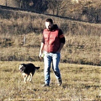 cane e padrone bimba e andrea