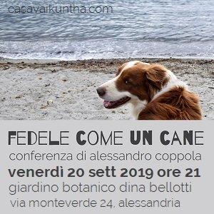 """Conferenza """"Fedele come un cane"""""""