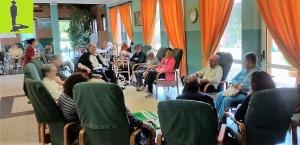 pet therapy per anziani presso residenza i giardini